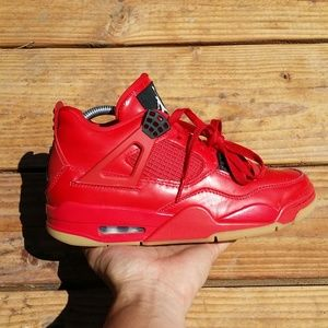 Nike Air Jordan 4 Fire Red NRG Singles Day Sneaker